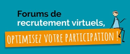 illustration de l'actualité : Forums de recrutement virtuels